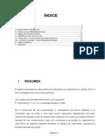 informe de Termoquimica unmsm