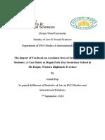Major Project Proposal (Josiah Pup-PGIR4)