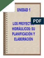 Proyectos de Obras Hidraulicas