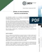 Instructivo Proceso Análisis Batimetría