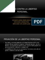 DELITOS CONTRA LA LIBERTAD PERSONAL.pptx