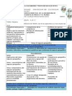 Planeacion2016-2017 Geografia de Mexico y El Mundo