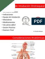 Curso de Intubaci+¦n Orotraqueal Ricardo Maingon