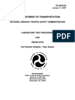 Fuel System Integrity – Rear Impact