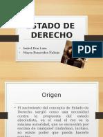 Estado de Derecho PERÚ