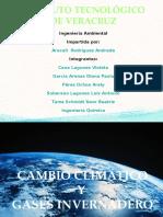 Cambio Climarico y Gases Invernadero