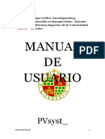 Manual de Usuario PVsyst