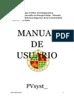 Manual de Usuario PVsyst