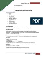 Componentes Geometricos de La via - Volumen de Transito, Capacidad y Niveles de Servicio