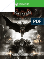 Batman Arkhan Night Xbox Manual
