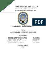 Maquinas Electricas II - Maquinas de Corriente Continua