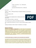 La Medicina Tradicional Boliviana y Su Cronología