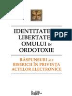 Identitatea şi libertatea omului în Ortodoxie