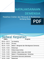 9. Penatalaksanaan Demensia