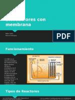 Bioreactores Con Membrana