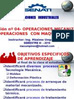 4 - 6 Operaciones Mecanizadas y Maquinado OPERACIONES INDUSTRIALES.pptx