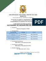 Isotermas de Adsorcion Informe