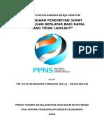 Makalah k3 Maritim - Surat Persetujuan Berlayar (Tri Octa Kharisma f. - k3 Lj 0514140143)