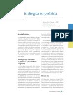 rinitis alergica pediatria