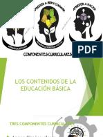 Los componentes de la educación basica