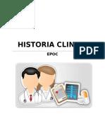 Historia Clinica Epoc