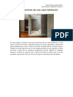 Muros Interiores de Una Casa Habitación