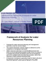 WRP Frameworks and Major Steps