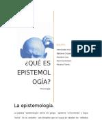La Epistemología