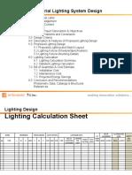 Lighting Design Report Format