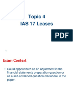 Topic 4 IAS17 Leases
