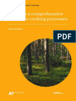 Towards a Comprehensive Model for Cooking Processes