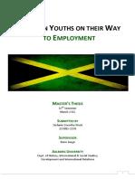 Jamaican Youths on Their Way to Employment Stefanie Weck