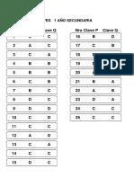 Claves Secundaria Eliminatoria