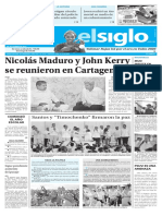 Edición Impresa Elsiglo 27-09-2016