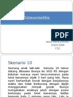 PPT Sknerio 10 Ostemomielitis