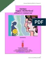 Surrogacy Motherhood Ethical or Commercial Delhi&Mumbai