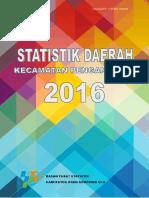 080 Statistik Kecamatan Pengandonan 2016 Watermark