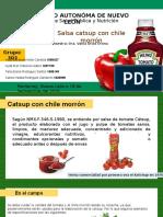 Ev6 Proceso de Elaboración de La Cátsup Con Chile Morrón