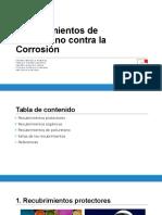 Recubrimientos de Poliuretano Contra La Corrosión