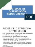 Sistemas de Distribución (Redes Urbanas)