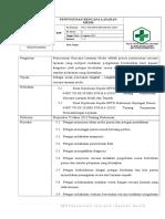 7.4.1 Sop Penyusunan Rencana Layanan Medis