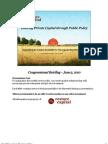 Enticing Private Capital Congressional Presentation June 3rd