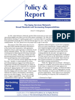Policy Report on the Aging Network 2008