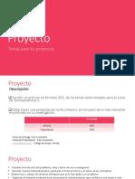 Temas de Proyecto