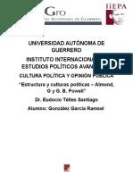 Ensayo - Estructura y Culturas Políticas – Almond, G y G. B. Powell