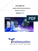 ThaiEasyElec MP3 Embedded Module_V1_1 (English)