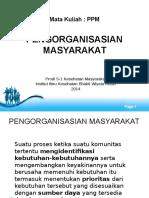 Pengorganisasian Masyarakat 26 Maret 2014 (2)