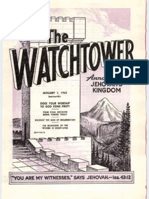 1965_The_Watchtower pdf | Shadrach, Meshach, And Abednego