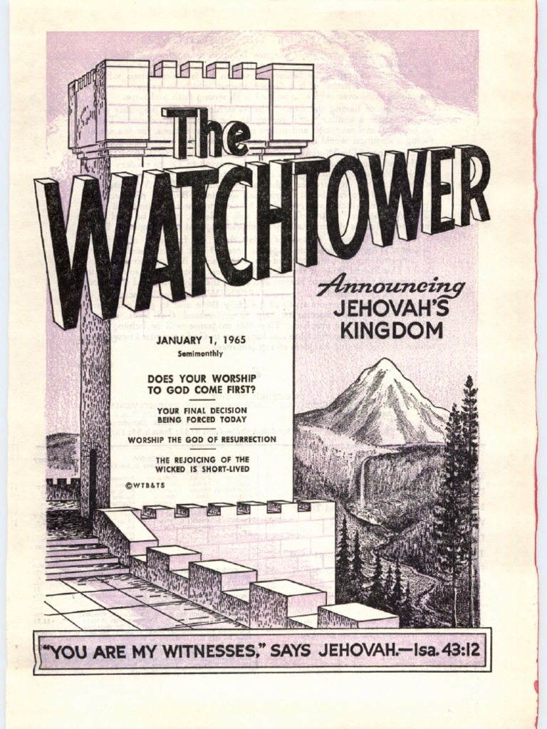 1965thewatchtowerpdf Shadrach Meshach And Abednego Jehovah