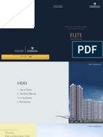 Elite Brochure | Wadhwa Terraform Realty Thane